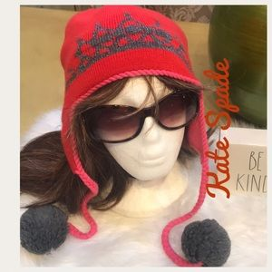2e631b6ee42a kate spade Accessories | Nwtknit Zip Up Beanie | Poshmark